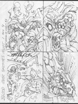 Blood of the Demon 1-4 cover sketches