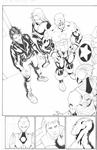 Invincible Iron Man # 20 Pgs. 10-11 by Salvador Larroca