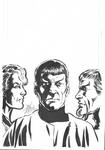 Star Trek: Romulans Schism # 3 cover by John Byrne