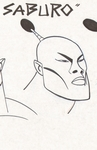 Saburo animation design