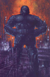 Darkseid trading card art