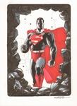 Superman color illo