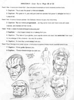 AMAZON SCRIPT WITH NEW GODS SKETCHES