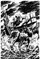 TRANSFORMERS COVER MEGATRON