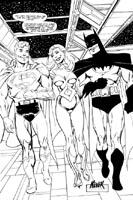 SUPERMAN,BATMAN,LANA LANG