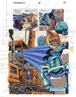 BATMAN ATTACKS ROBOT