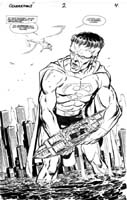 SUPERMAN FRAKENSTEIN/ RED KRYPTNOITE!
