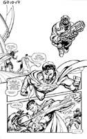 SUPERMAN, BIG BARDA AND PARADEMON INVASION